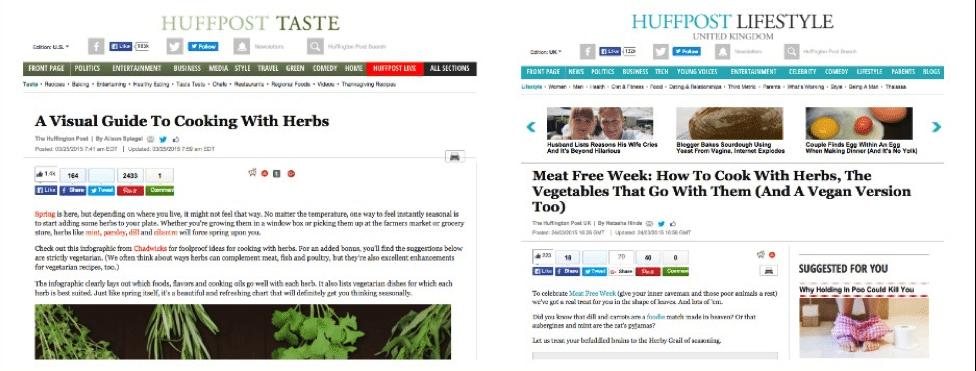 huffingtonpost coverage