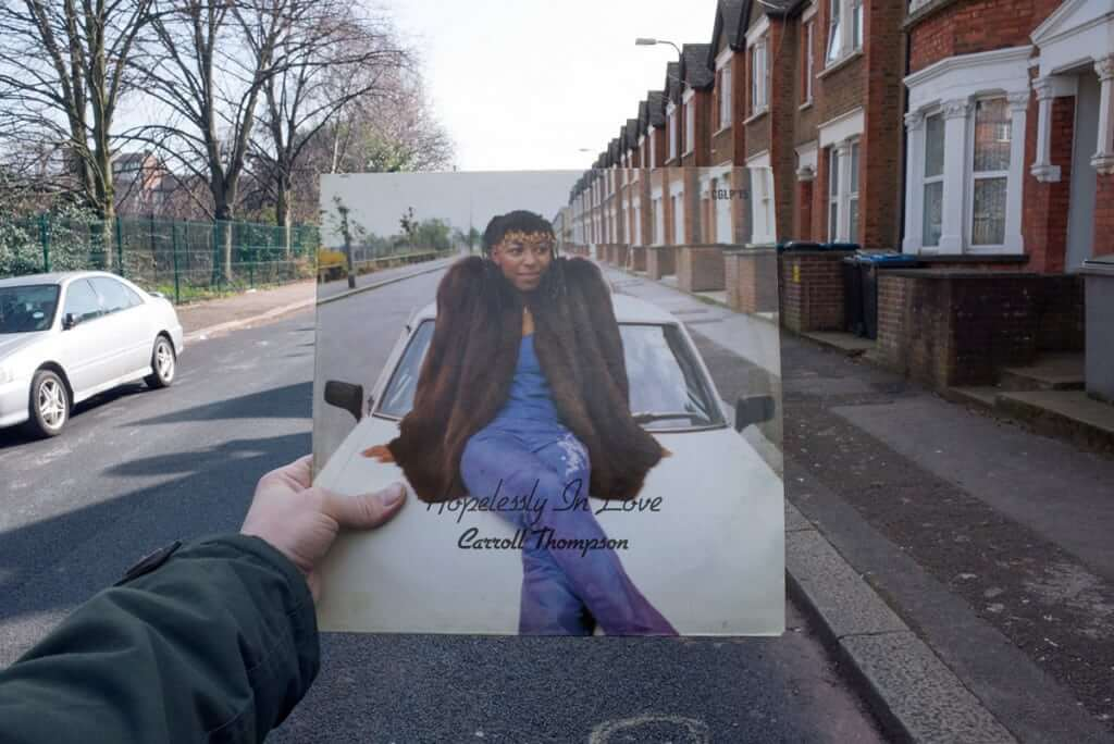 Retracing Reggae Record Sleeves Photographed in London