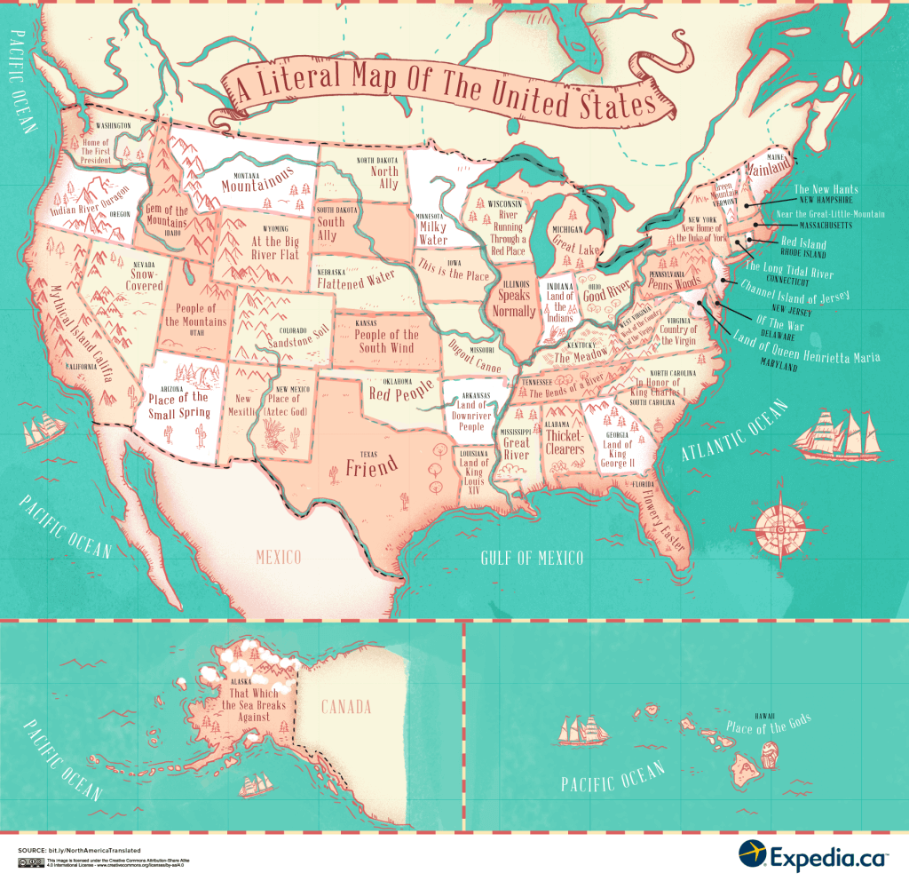 The Meaning Behind The Names of Every State in the United States