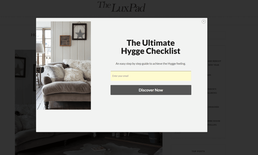 super detailed blog post about Hygge