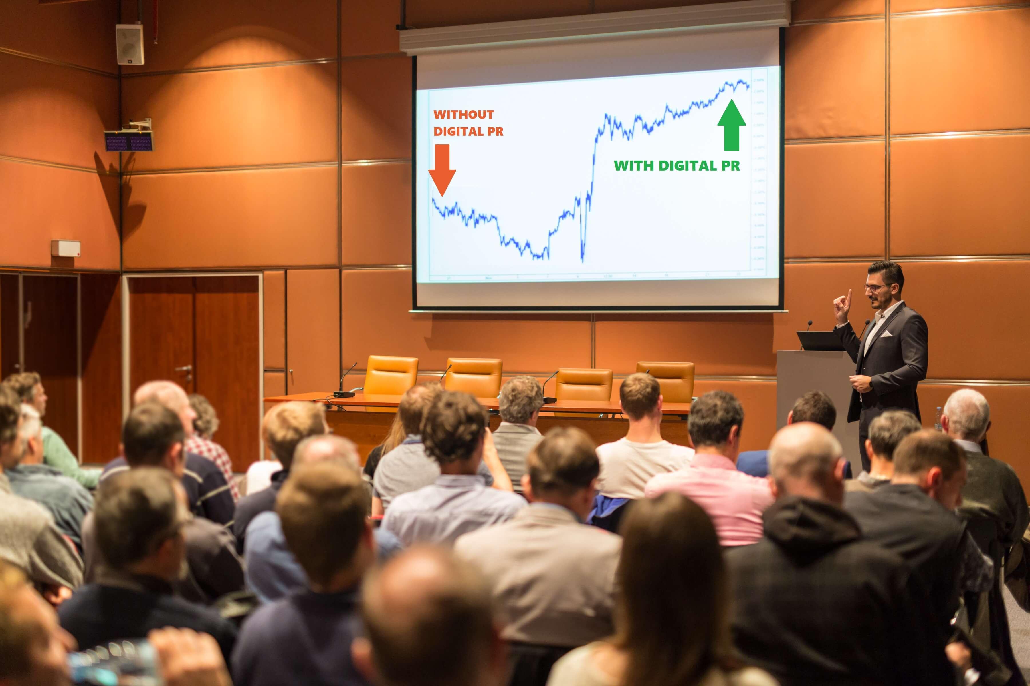 conference speaker recommends digital pr